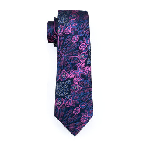 Alien Purple Captive Tie - neck - Ply Tie