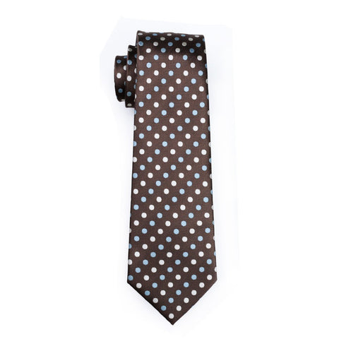 Brown Barry Tie - neck - Ply Tie