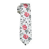 Japanese Cherry Blossom Kisses Tie Set - neck - Ply Tie