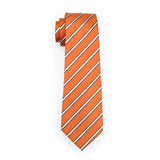 Orange Shake Tie Set - neck - Ply Tie