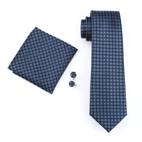 Denim Mellow Tie Set - neck - Ply Tie