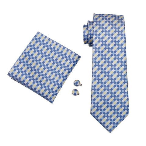 Rail Plaid Tie Set - neck - Ply Tie