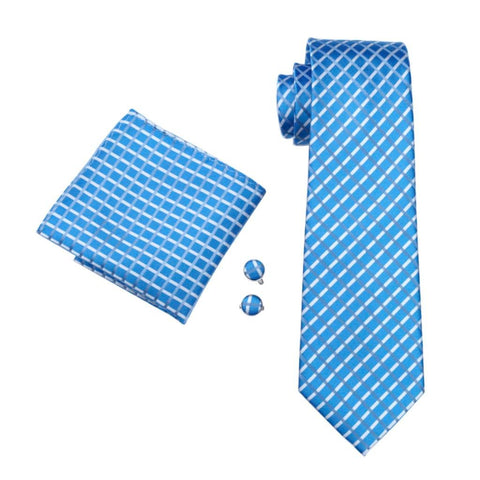 Lost in the Ocean Tie Set - neck - Ply Tie