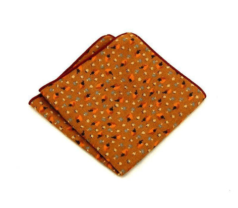 Orange Square - square - Ply Tie