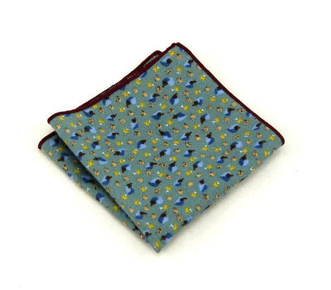 Light Blue Square - square - Ply Tie