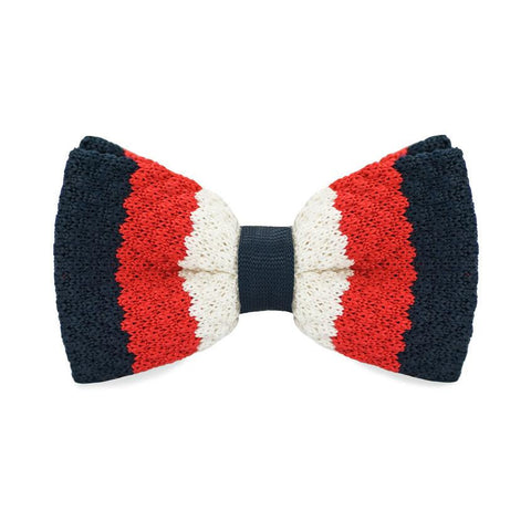 Calm Swiss Knitted Bow Tie - bow - Ply Tie