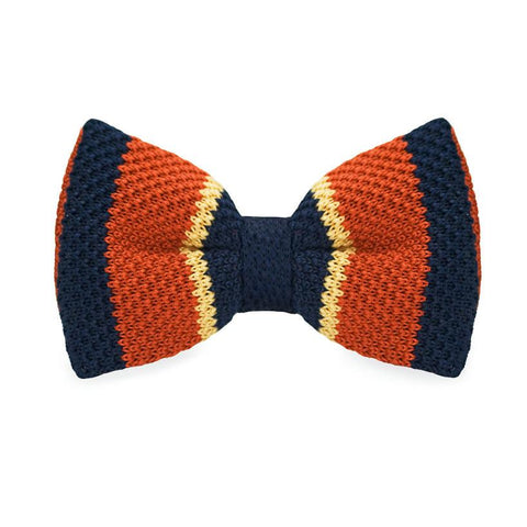 Humpty Dumpty Knitted Bow Tie - bow - Ply Tie