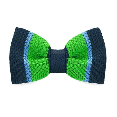 Gamma Ray Knitted Bow Tie - bow - Ply Tie