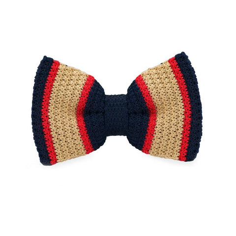 Warm Xao Knitted Bow Tie - bow - Ply Tie