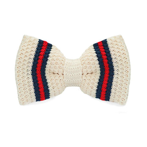 Clear Japan Knitted Bow Tie - bow - Ply Tie