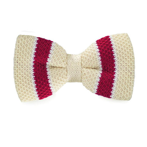 Brandish Pie Knitted Bow Tie - bow - Ply Tie