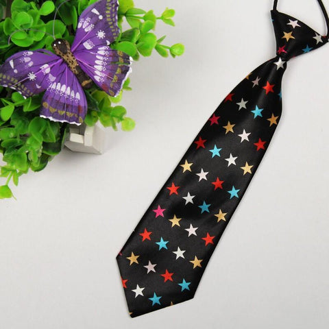 Colorful Star Tie - child - Ply Tie