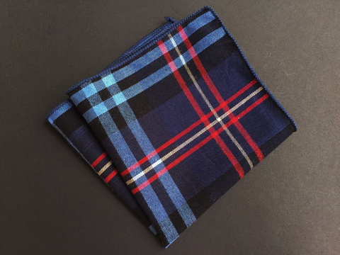Adventure Plaid Square - square - Ply Tie