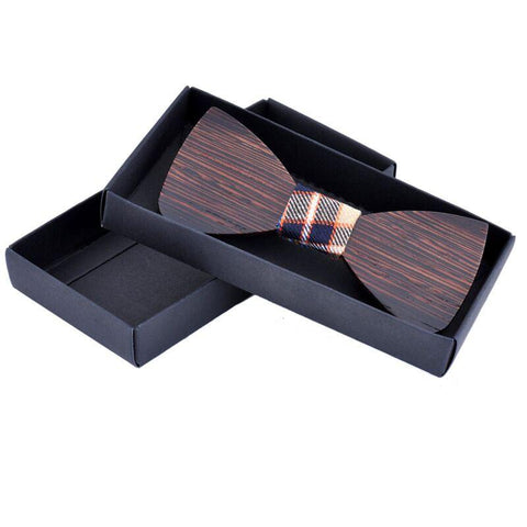 Handmade Slim Regular Wooden Ties - wood - Ply Tie