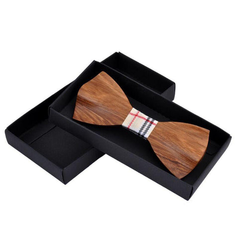 Handmade Popped Wooden Ties - wood - Ply Tie