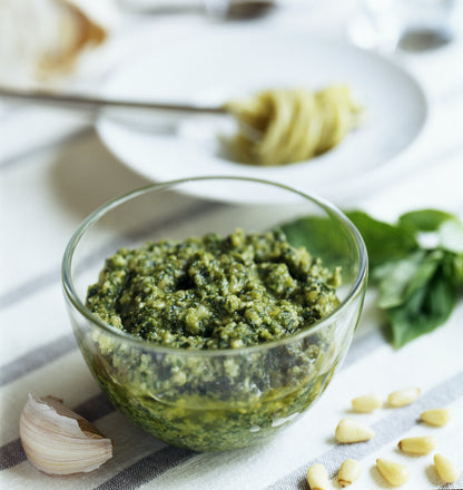 The Best Ever Spaghetti Pesto!