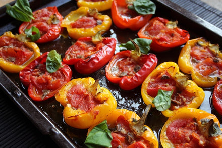 Italian-style Roasted Peppers