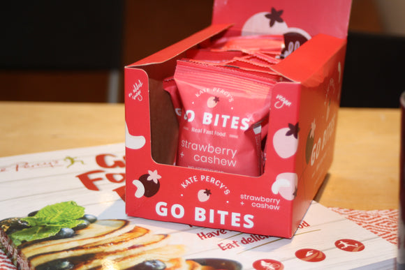 Kate Percy's Book & Bites Deal GO BITES® 12 Pack & Go Faster Food for Your Active Family