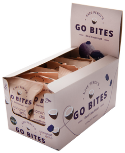 Kate Percy's GO BITES® Coconut & Date 12 Pack