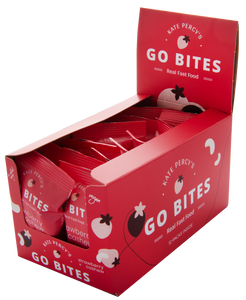 Kate Percy's GO BITES® Strawberry & Cashew 12 Pack