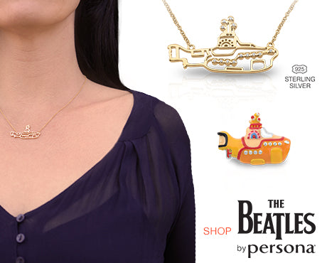 NEW! The Beatles by Persona Jewelry