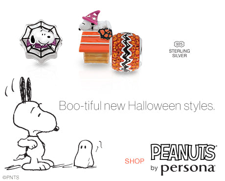 NEW! Peanuts by Persona Charms - Halloween