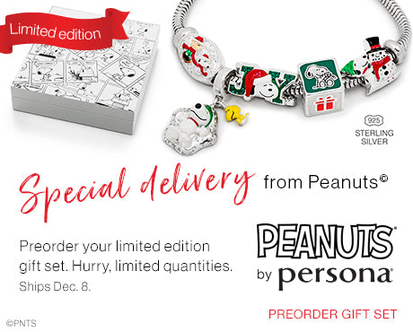 Limited Edition Peanuts by Persona Holiday Box Set