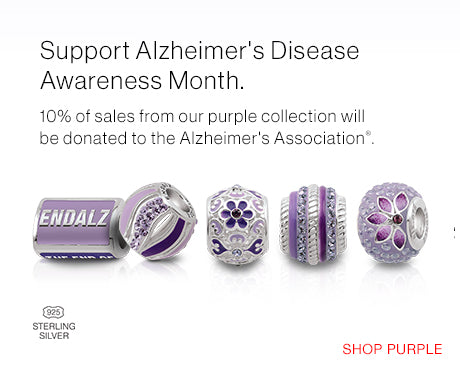 Shop Purple to Support Alzheimer's Disease Awareness Month this month!