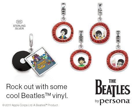 The Beatles by Persona Charms & Jewelry