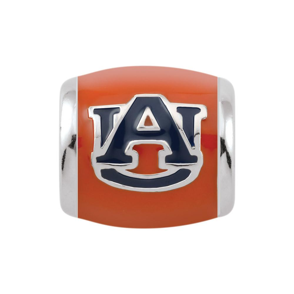 Auburn U Spirit Orange Campus Life Charms Sterling Silver Enamel Collegiate Auburn University schools