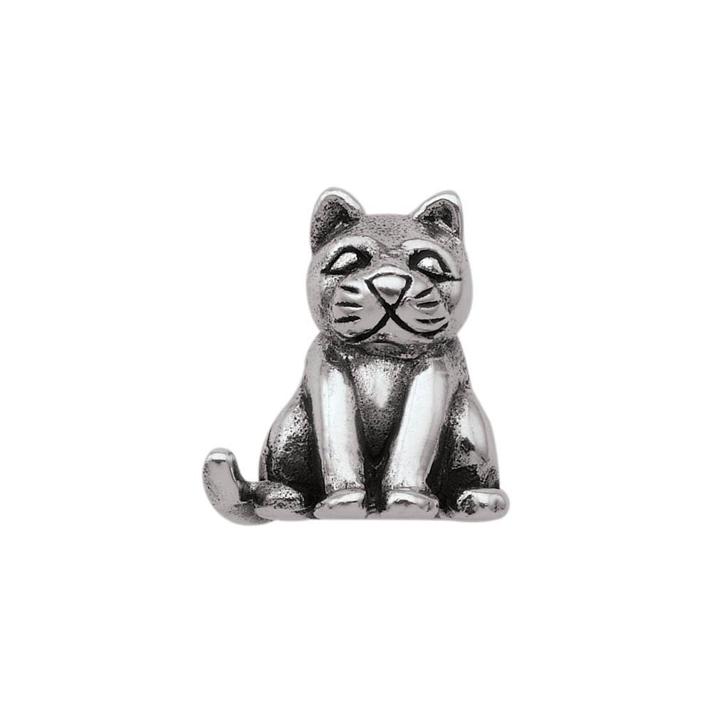 Cuddly Kitty Personagirl charm Sterling Silver Silver