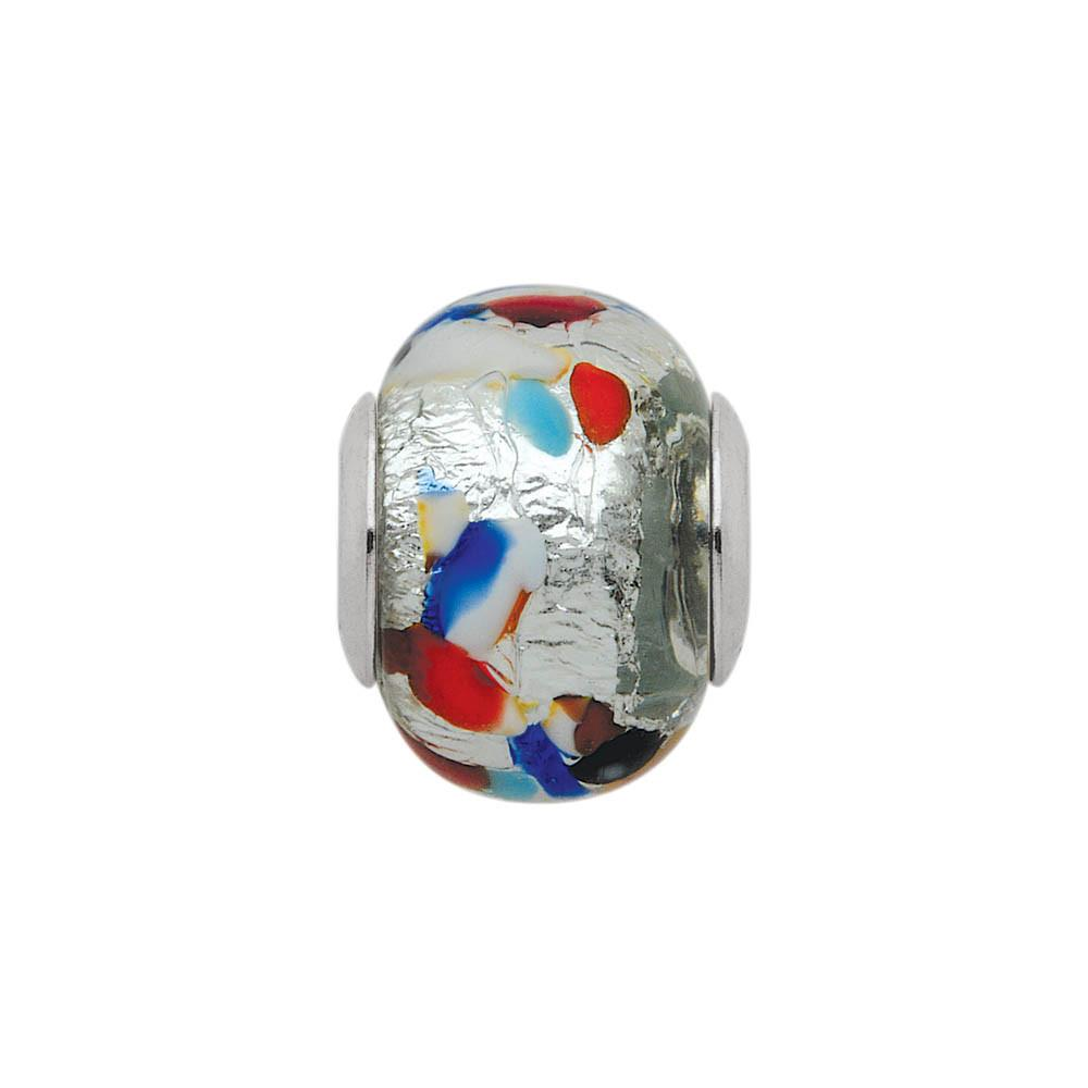 Painters Paradise Personagirl charm Sterling Silver Multi