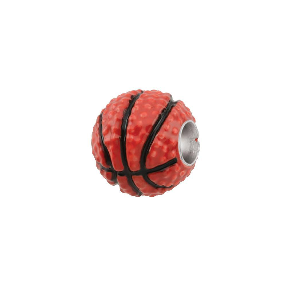 Basketball charm orange