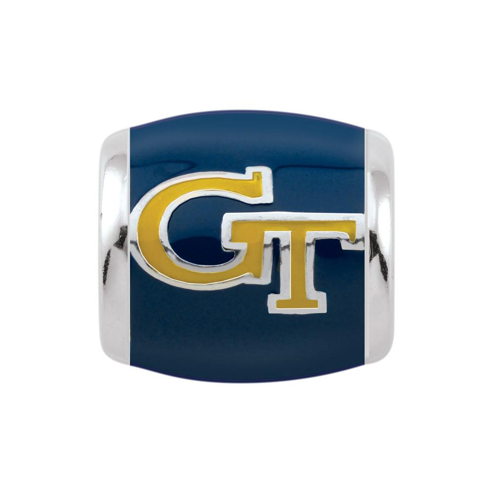 Georgia Tech Spirit Navy Campus Life Charms Sterling Silver Enamel Collegiate Georgia Institute of Technology schools