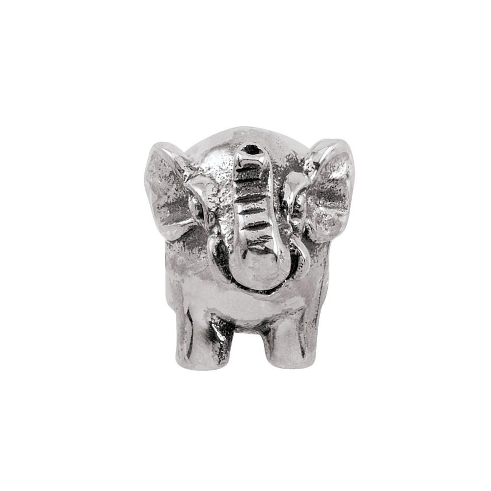 Gentle Elephant Persona Jewelry style Beads parentcolor Silver
