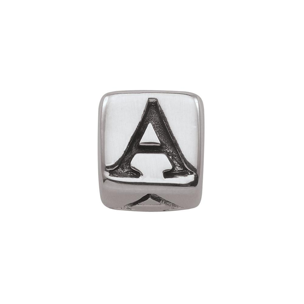 Sterling Silver Initial A