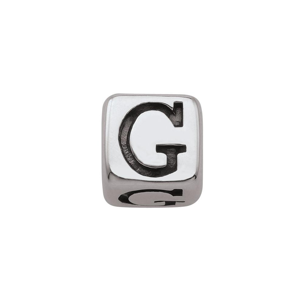 Sterling Silver Initial G