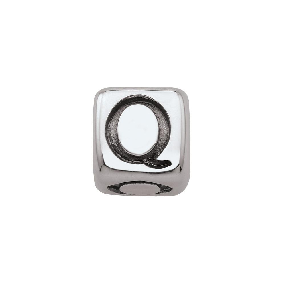 Sterling Silver Initial Q