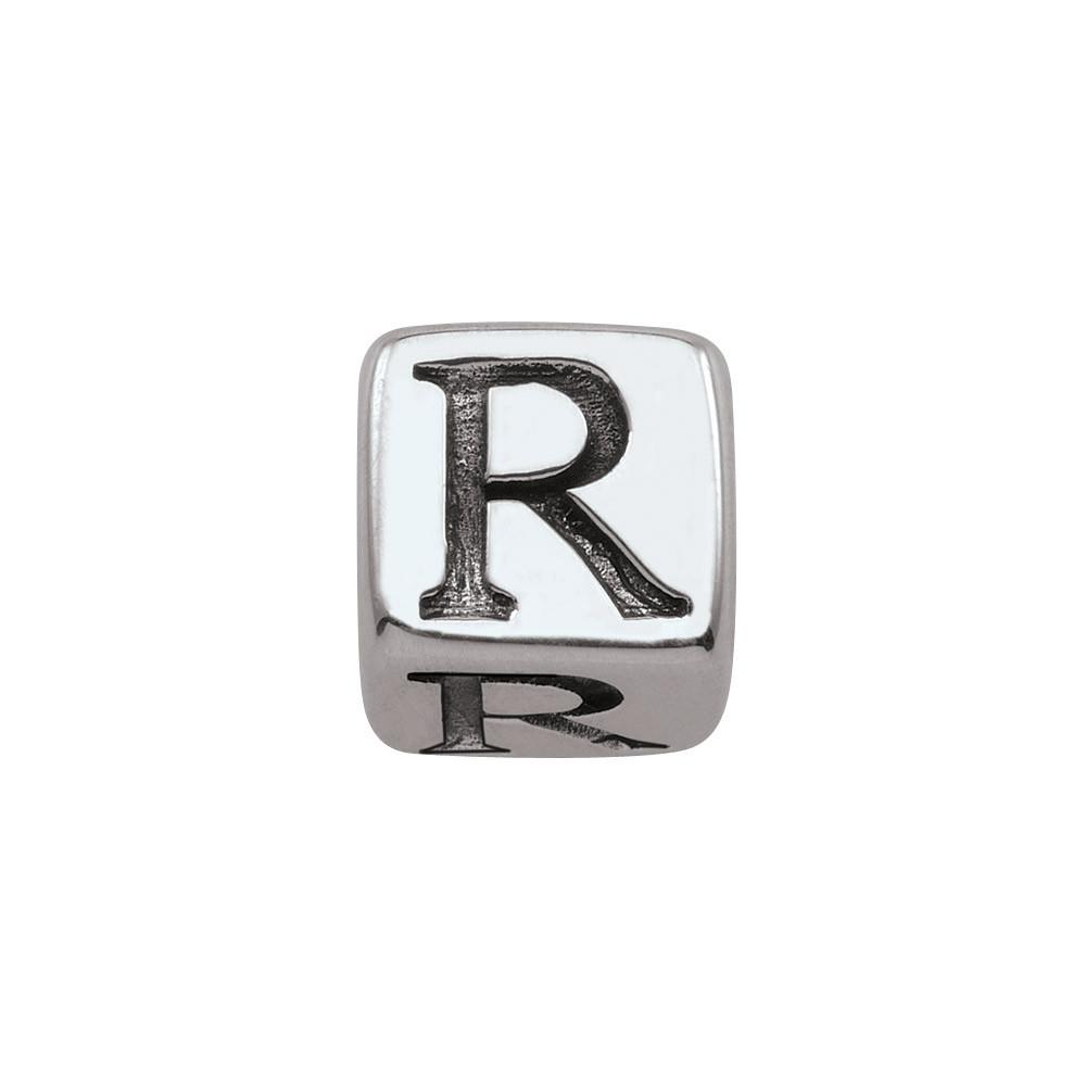 Sterling Silver Initial R