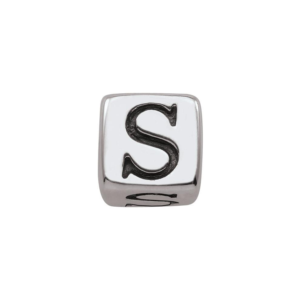 Sterling Silver Initial S