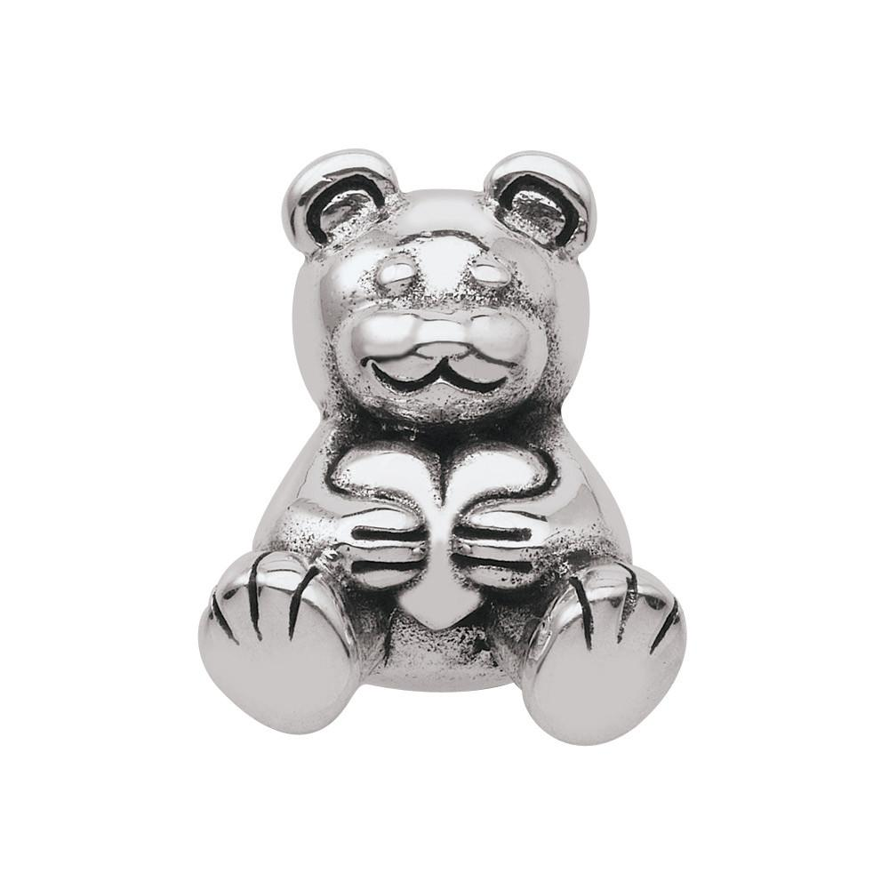 Teddy Bear Persona Charms Silver
