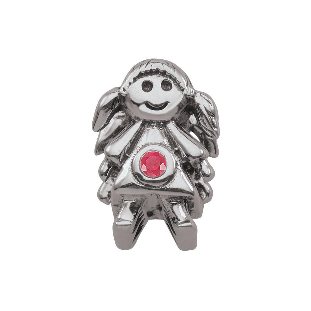 July Girl Persona Charms Red