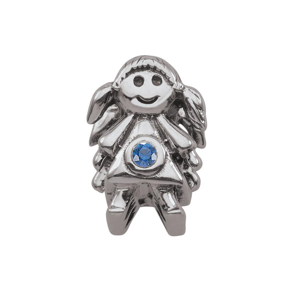 September Girl Persona Charms Blue