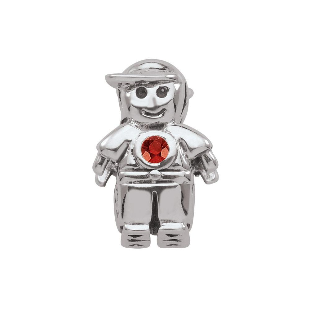 January Boy Persona Charms Red