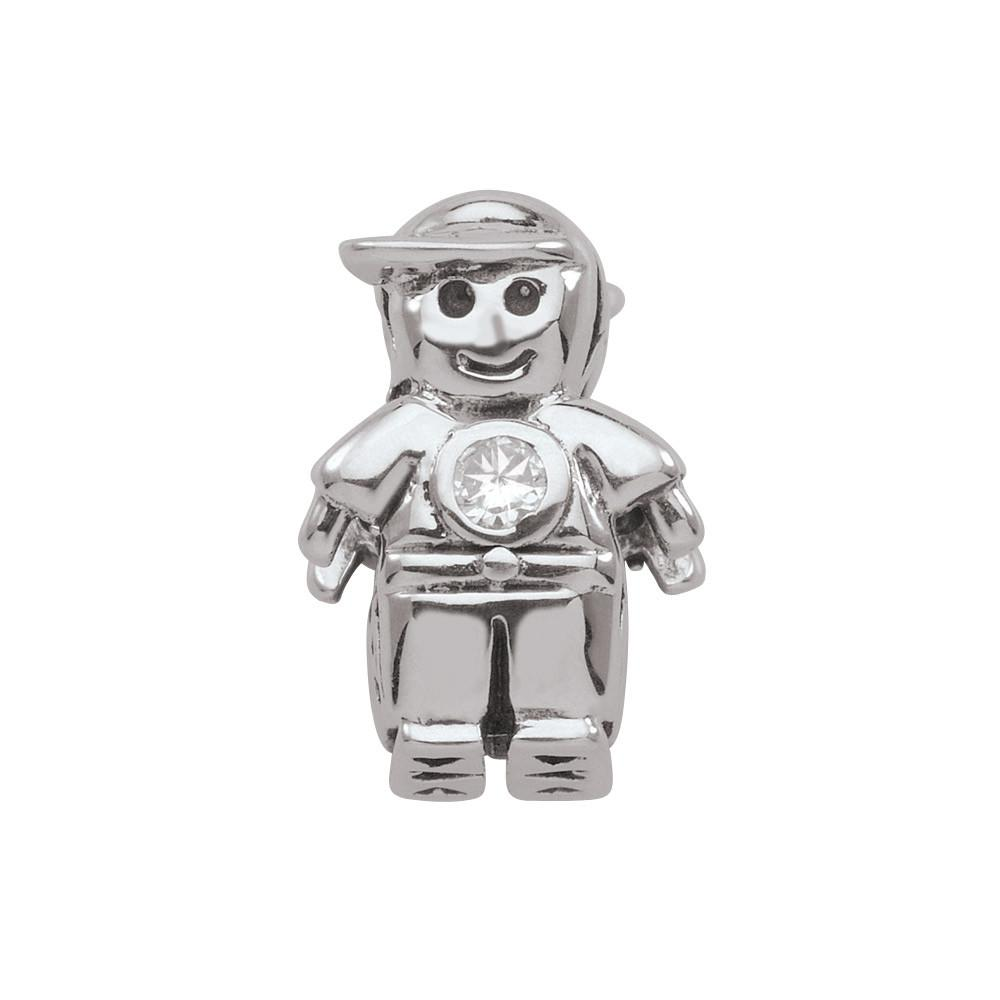 April Boy Persona Charms Silver