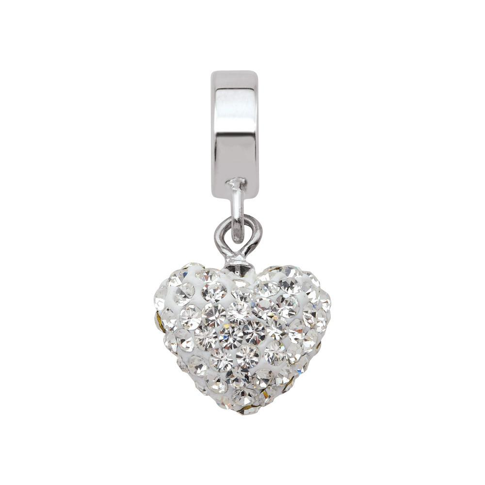 Love of Crystal Persona Charms White