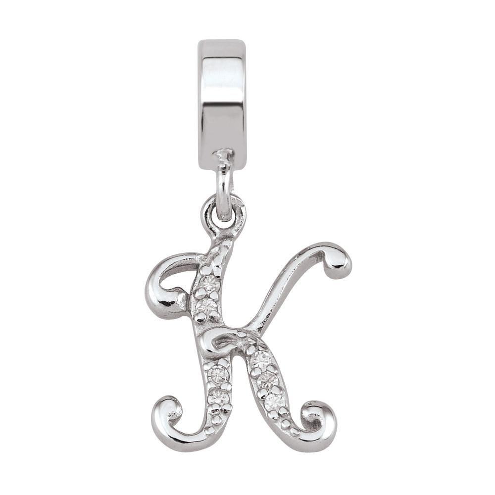 K is for Persona Charms White