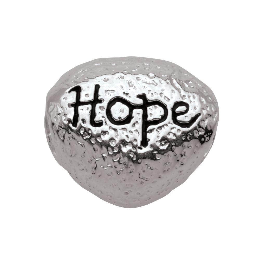 Hope Pebble Persona Charms Silver