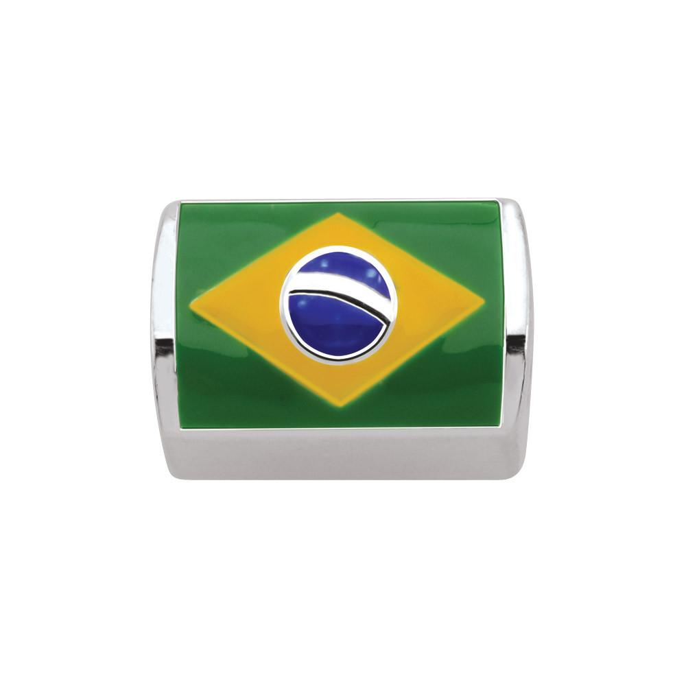 Flag of Brazil Persona Charms Multicolor