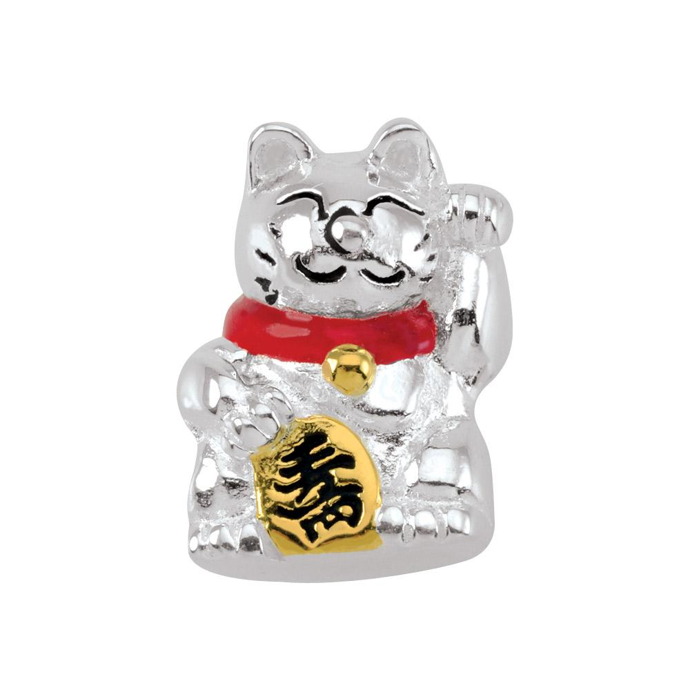 Lucky Cat Persona Charms Red